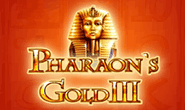Слоты Pharaohs Gold III онлайн