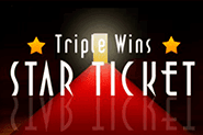 Играть в автомат Triple Wins Star Ticket онлайн